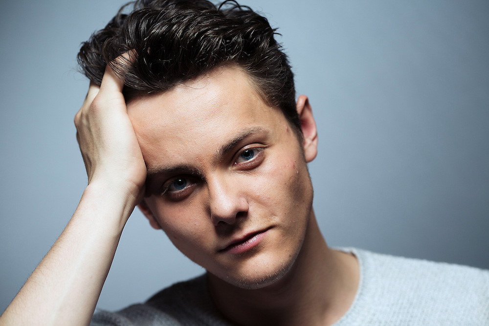TYGER DREW HONEY portrait at his home in Surrey on Thursday May 8, 2014.<br /> TYGER DREW HONEY new documentary speaking about the porn industry comes out on the May 15 2014.