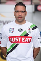 OHL's Romero Regales pictured during the 2015-2016 season photo shoot of Belgian first league soccer team OH Leuven, Monday 13 July 2015 in Leuven.
