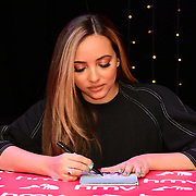 Jade Thirlwall sign copies of their latest album 'LM5' at hmv Oxford Street on 19 November 2018, London, UK.