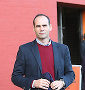 Former Dundee star Javier Artero was at Tannadice to support his former club in the derby - Dundee United v Dundee at Tannadice<br /> - Ladbrokes Premiership<br /> <br />  - © David Young - www.davidyoungphoto.co.uk - email: davidyoungphoto@gmail.com