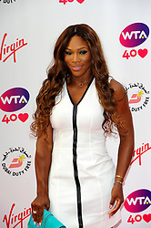 Wimbledon Party<br /> Serena Williams attends the annual pre-Wimbledon party at Kensington Roof Gardens,<br /> London, United Kingdom<br /> Thursday, 20th June 2013<br /> Picture by Chris  Joseph / i-Images
