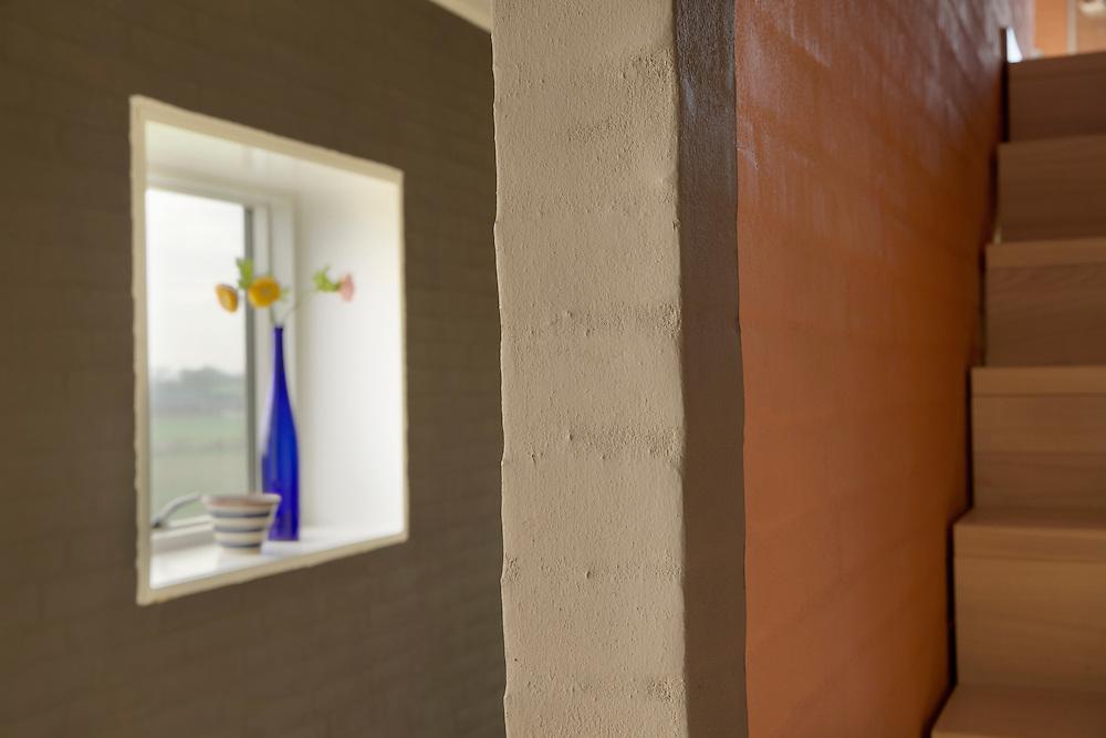 Dette hus ved Thisted er indrettet med mange forskellige farver