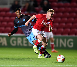 Connor Lemonheigh-Evans of Bristol City - Mandatory by-line: Paul Knight/JMP - Mobile: 07966 386802 - 12/10/2015 -  FOOTBALL - Ashton Gate Stadium - Bristol, England -  Bristol City U21 v Sheffield Wednesday U21 - Professional Development League