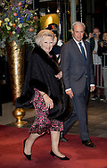Tilburg , 03-04-2017 <br /> <br /> King Willem-Alexander and Queen Maxima, Princess Beatrix and Prince Constantijn attend the Kingsway Concert at The Tilburg Theatres.<br /> <br /> <br /> <br /> COPYRIGHT: ROYALPORTRAITS EUROPE/ BERNARD RUEBSAMEN