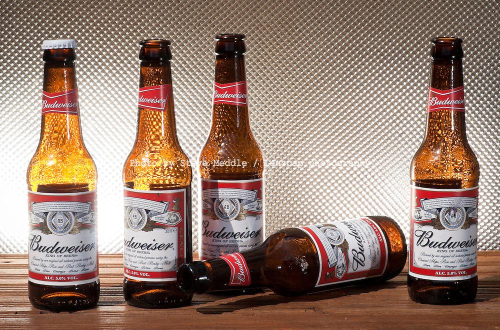 Bottles of Budweiser Beer - August 2010