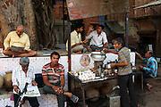 Chi (tea) stall inside the old city of Jodhpur