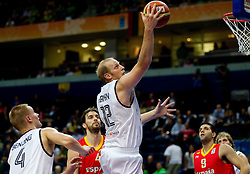 Chris Kaman of Germany during basketball game between National basketball teams of Germany and Spain at FIBA Europe Eurobasket Lithuania 2011, on September 7, 2011, in Siemens Arena,  Vilnius, Lithuania. (Photo by Vid Ponikvar / Sportida)