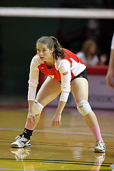 29 October 2011: Laura Wakefield During a match between the Creighton Bluejays and the Illinois State Redbirds at Redbird Arena in Normal Illinois