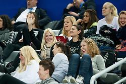17-12-2014 CRO: EHF EK Nederland - Frankrijk, Zagreb<br /> Tamara Mavsar and other players of RK Krim Mercator during handball match between Netherlands and France at 11th EHF European Women's Handball Championship Hungary-Croatia 2014<br /> <br /> *** USE NETHERLANDS ONLY ***
