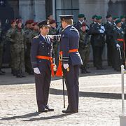 NLD/Den Haag/20180831 - Koninklijke Willems orde voor vlieger Roy de Ruiter, ridderslag  van Koning Willem - Alexander