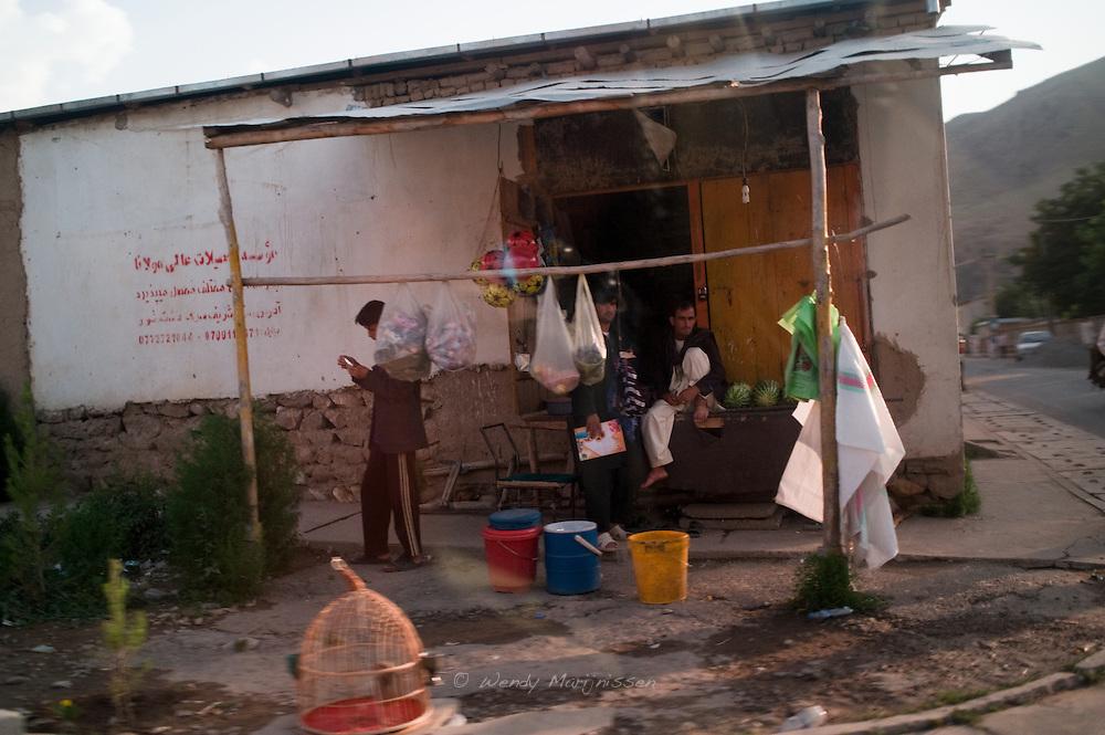 A corner shop in Faizabad. Badakshan, Afghanistan, 2012
