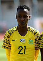 International Women's Friendly Matchs 2019 / <br /> Womens's Cyprus Cup Tournament 2019 - <br /> Finland v South Africa 3-0 ( Tasos Marko Stadium - Paralimni,Cyprus ) - <br /> Busisiwe Ndimeni of South Africa