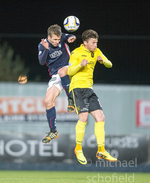 Falkirk's Luke Leahy.<br /> Falkirk 0 v 0  Livingston, Scottish Championship game played 21/10/2014 at The Falkirk Stadium.