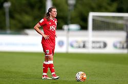 Jodie Brett of Bristol City Women stands over a free kick - Mandatory by-line: Robbie Stephenson/JMP - 25/06/2016 - FOOTBALL - Stoke Gifford Stadium - Bristol, England - Bristol City Women v Oxford United Women - FA Women's Super League 2