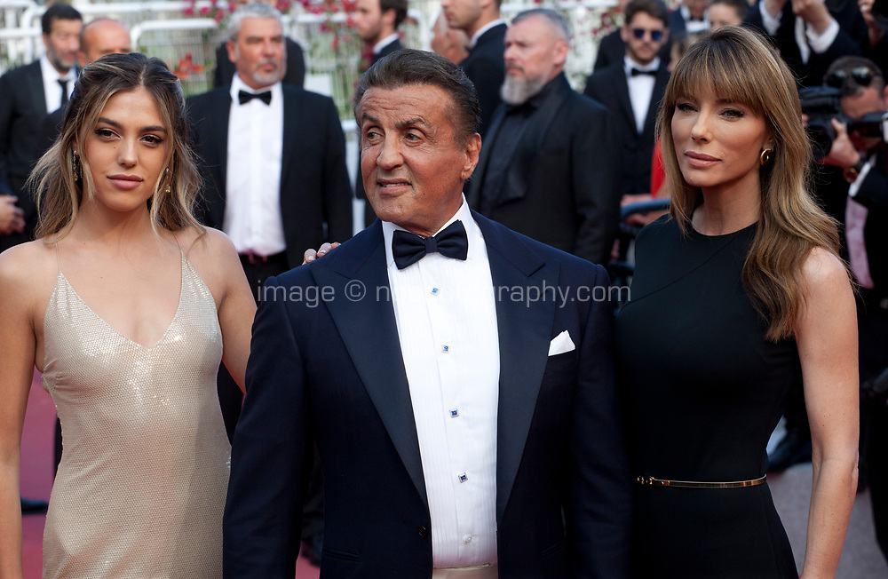 Sylvester Stallone at the closing ceremony and The Specials film gala screening at the 72nd Cannes Film Festival Saturday 25th May 2019, Cannes, France. Photo credit: Doreen Kennedy