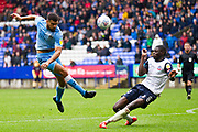 *** during the EFL Sky Bet League 1 match between Bolton Wanderers and Coventry City at the University of  Bolton Stadium, Bolton, England on 10 August 2019.