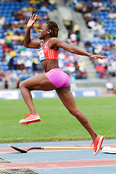 Samsung Diamond League adidas Grand Prix track & field; Womens Triple Jump, Kimberly Williams, JAM
