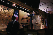 Former Governor of Arkansas Mike Huckabee speaks during day two of the Conservative Political Action Conference (CPAC) at the Gaylord National Resort & Convention Center in National Harbor, Md.