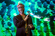 Matt Berninger - The National live at All Points East Festival. Victoria Park, London, UK. 2 June 2018