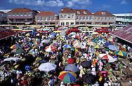 Saturday produce market, St.George's, Grenada, Caribbean