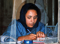 Pakistan, Karachi, 2004. Humanitarian outreach on a nationwide scale is made possible only by the unstinting public service of hundreds of volunteers.