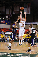 November 25th, 2010:  Anchorage, Alaska - University of Alaska-Anchorage forward Casey Robinson (44) attempts a three in the Seawolves 54-86 loss to Weber State in the first round of the Great Alaska Shootout.