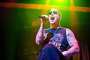 Avenged Sevenfold performing at Uproar Festival at Nationwide Arena in Columbus, OH on August 24, 2010