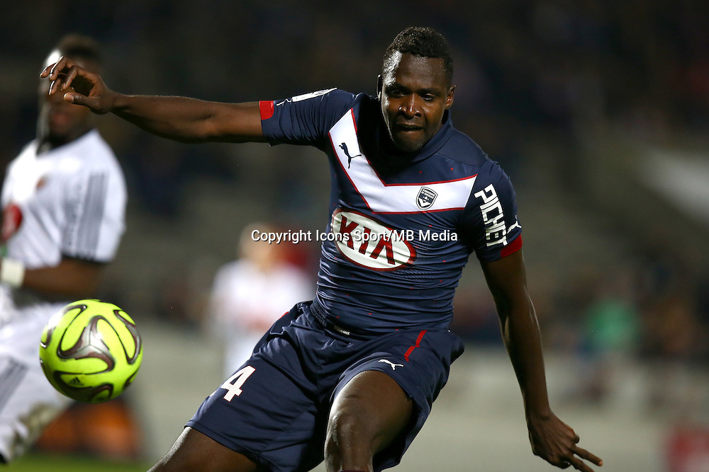 Cheick Diabate - 06.12.2014 - Bordeaux / Lorient - 17eme journee de Ligue 1 -<br />