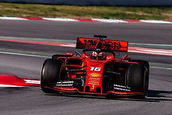 February 28, 2019 - Montmelo, BARCELONA, Spain - Charles Leclerc from Monaco with 16 of Scuderia Ferrari Mission Winnow SF90 in action during the Formula 1 2019 Pre-Season Tests at Circuit de Barcelona - Catalunya in Montmelo, Spain on February 28. (Credit Image: © AFP7 via ZUMA Wire)