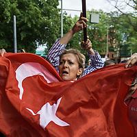 16 Demonstration gegen den Putschversuch in der Türkei