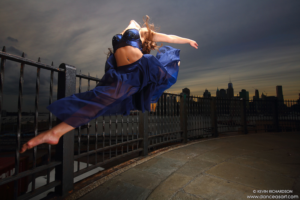 Dance As Art New York City Photography Project Brooklyn Heights Promenade Series with dancer Ashtyn Muzio