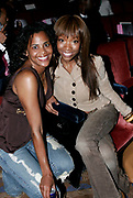 Laurie Ann Gibson and Brandy at  Baby Phat Fashion Show