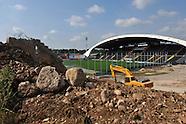 2014/06/23 Stadio Friuli: posa della prima pietra della tribuna Nord
