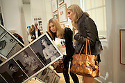 RHIANA REES; AMANDA NELSON;, Dazed & Confused 20th Anniversary Exhibition. Somerset House. London. 3 November 2011<br /> <br />  , -DO NOT ARCHIVE-© Copyright Photograph by Dafydd Jones. 248 Clapham Rd. London SW9 0PZ. Tel 0207 820 0771. www.dafjones.com.