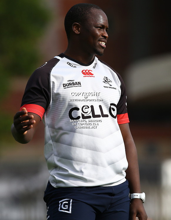 Tera Mtembu during The Cell C Sharks training session at Growthpoint Kings Park in Durban, South Africa. 21 August 2017(Photo by Steve Haag)<br /> <br /> images for social media must have consent from Steve Haag