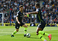 BRIGHTON, ENGLAND - MAY 12:  David Silva (21) of Manchester City during the Premier League match between Brighton & Hove Albion and Manchester City at American Express Community Stadium on May 12, 2019 in Brighton, United Kingdom. (MB Media)
