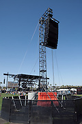 Speakers at the 2010 Coachella Music Festival in Indio, CA on April 16, 2010.
