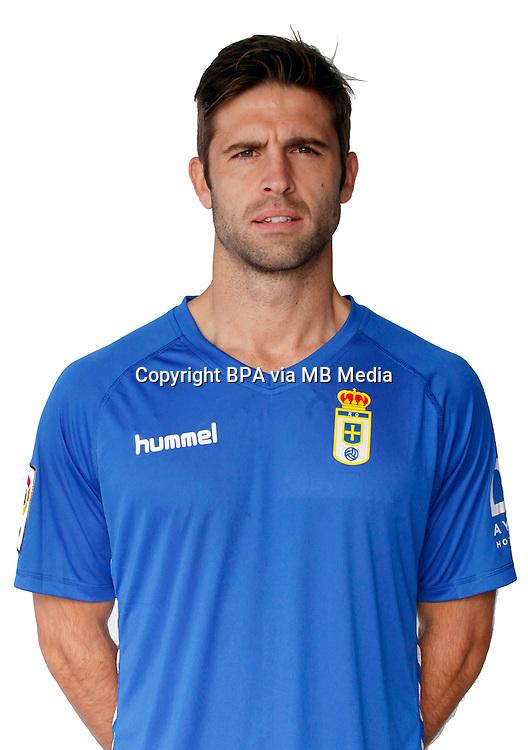 Spain - La Liga Adelante 2015-2016 / <br /> ( Real Oviedo ) - <br /> Hector Verdes Ortega