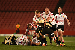 Ruan Ackermann during the Currie Cup premier division match between the The Lions and the Boland Cavaliers held at the Emirates Airline Park (Ellis Park), Johannesburg, South Africa on the 26th August 2016<br /> <br /> Photo by:   Real Time Images
