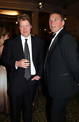 Left to right, EARL SPENCER brother of the late Diana, Princess of Wales and SIR MATTHEW PINSENT at the 2005 British Book Awards held at The Grosvenor House Hotel, Park lane, London on 20th April 2005.<br />