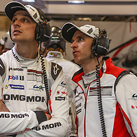 #2 Earl Bamber, Timo Bernhard, Porsche LMP Team at WEC 6 Hours of Spa-Francorchamps 2017, Spa-Francorchamps race circuit, on 06.05.2017