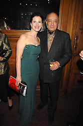 OLGA BALAKLEET and MOHAMED AL FAYED at a gala in aid of the Raisa Gorbachev Charitable Foundation in honour of the late Russian dancer Maris Liepa held at The London Coliseum, London on 24th February 2008.<br /><br />NON EXCLUSIVE - WORLD RIGHTS