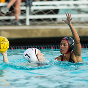 10 February 2017: The #17 San Diego State women's waterpolo team hosted Santa Clara Friday afternoon at the Aztec Aquaplex. The Aztecs beat the Broncos 12-6 to improve to 2-2 and 1-0 in conference play.