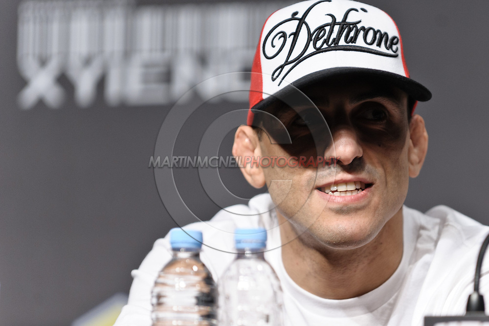 "SYDNEY, AUSTRALIA, FEBRUARY 23, 2011: Australian fighter George Sotiropoulos is pictured during the pre-fight press conference for ""UFC 127: Penn vs. Fitch"" inside Star City Hotel and Casino in Sydney, Australia on February 23, 2011"