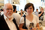 SIR PETER BLAKE; ROSE BLAKE The launch of murmurART, The Wonder Room. SELFRDIGES, Oxford St.