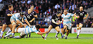 London - Saturday, November 14th 2009: James Haskell of England on the attack during the Investec Challenge Series Game at Twickenham, London. ..(Pic by Alex Broadway/Focus Images)