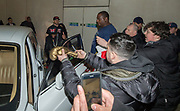 EXCLUSIVE<br /> Floyd Mayweather on his UK tour, Floyd Mayweather leaves Playground nightclub in Liverpool in a Rolls royce which is part of his seven supercar fleet<br /> ©Peter Powell/Exclusivepix Media
