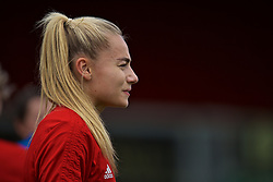 NEWPORT, WALES - Monday, September 2, 2019: Wales' Charlie Estcourt during a training session at Rodney Parade ahead of the UEFA Women Euro 2021 Qualifying Group C match against Northern Ireland. (Pic by David Rawcliffe/Propaganda)