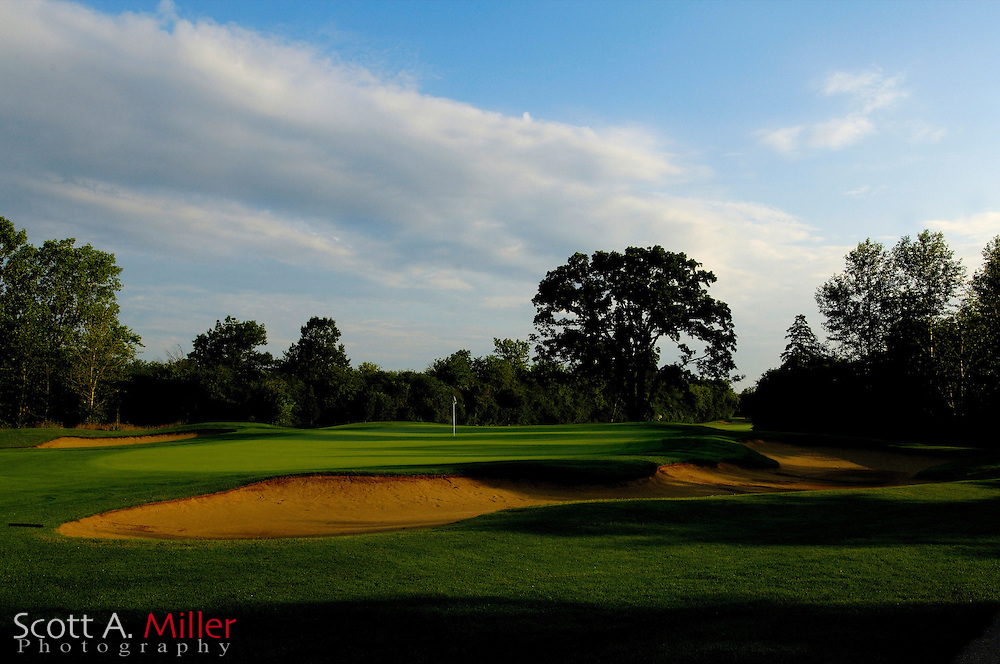 Mundelein, Ill.:  June 26, 2006 - No. 5 at the Pine Medow Golf Course in Mundelein, Ill...                ©2006 Scott A. Miller