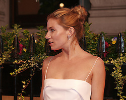 Sienna Miller arriving at the British Film Institute's  Luminous Gala in London,  Tuesday, 8th October 2013. Picture by Max Nash / i-Images<br />